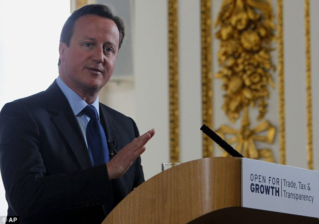 Desperate: But it may already be too late for David Cameron to make a difference in the Syrian civil war