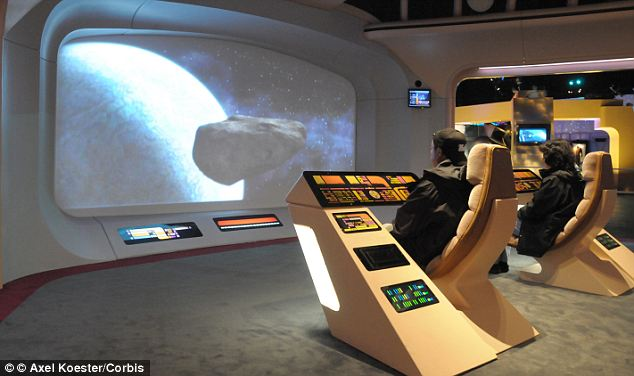 Futuristic: The Emperor 200 looks like something out of Star Trek and can be yours for a mere £30,000