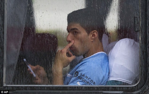 Troubled times: Suarez feels like the media and referees have made life hard for him in England