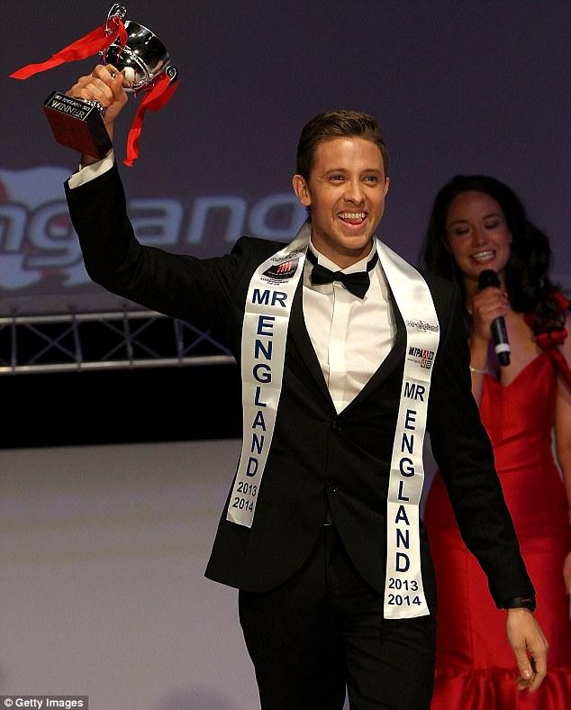 Jordan Williams wins the Mr England 2013 final yesterday in Torquay