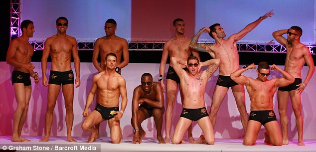 Jordan Williams 'Mr Rugby' won the Mr England crown at the Riviera center