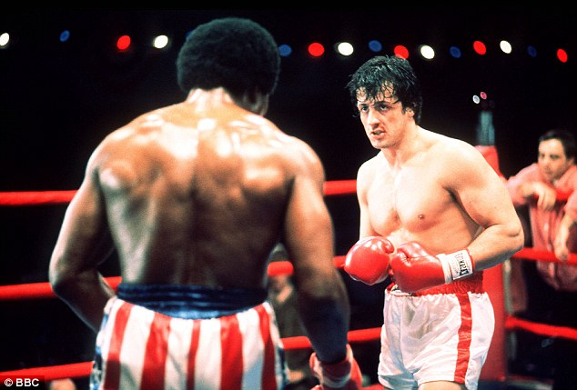 Saga: Rocky earned his big break as a fighter against Apollo Creed in Rocky I and II