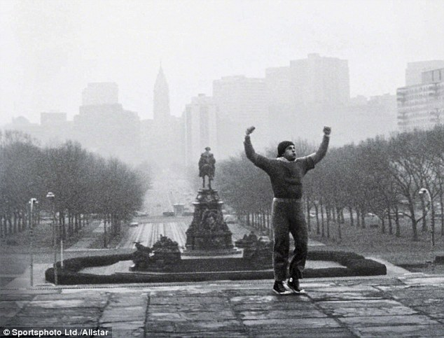 Boxing clever: A trip to Philadelphia - where Rocky climbed the famous steps - inspired this week's column
