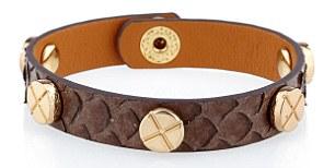 leather bracelets, £25 each, Tokyo Jane, london-boutiques.com