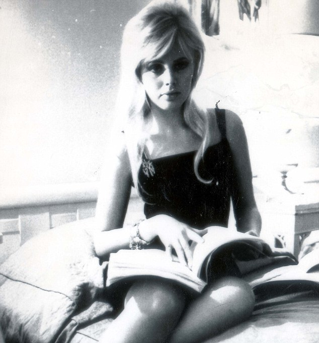 Natural beauty: Britt in 1964 when she was just 22 years-old