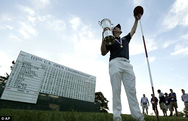 The toughest test: Justin Rose excelled and outplayed the field, walking in the shoes of the greats