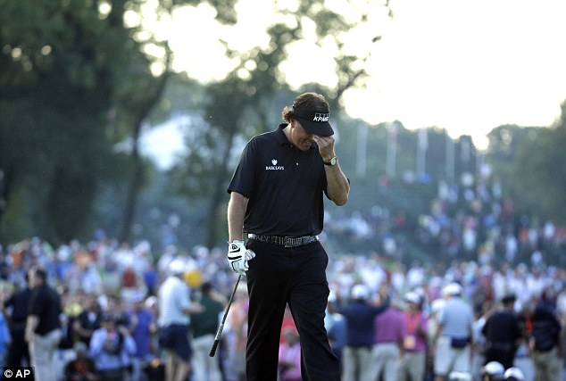 Runner up - again: Phil Mickelson certainly isn't the greatest player of his era. That's Tiger Woods. He has 14 majors. Mickelson has four. But he is the most beloved player of his generation