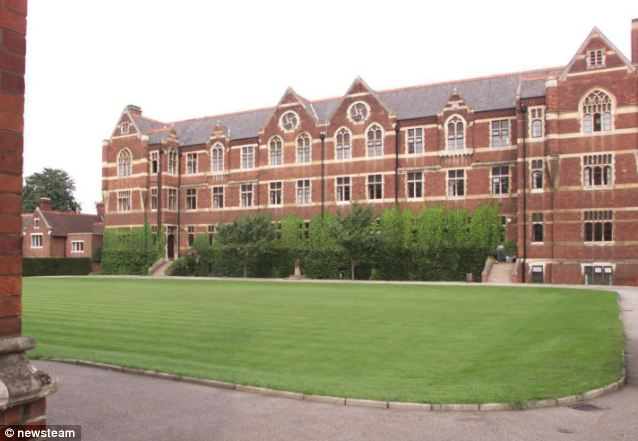 Private school: The prestigious The Leys school which costs pupils £28,000-a-year to attend
