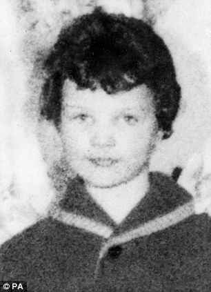 Moors murder victim Lesley Ann Downey, who was just 10 when she was sadistically murdered
