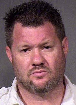 Fighter: Phoenix bus driver Todd Allen Shields was arrested Friday for beating up a passenger