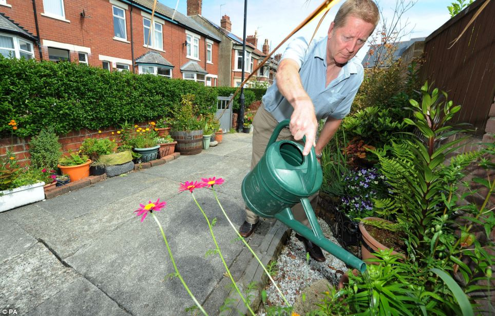 Residents say the uplifting pathway has improved the whole area