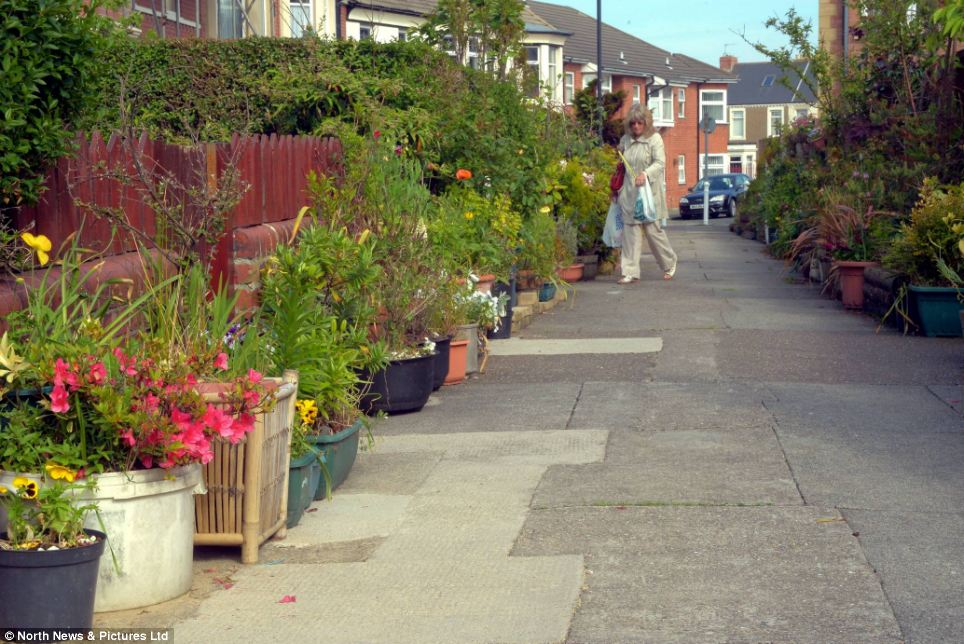 One resident said that the pathway had even helped the area overcome its anti-social behaviour problems