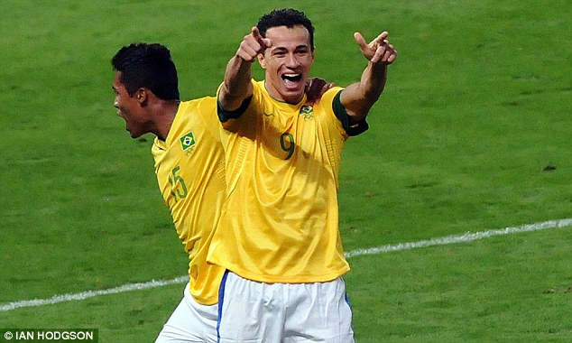 Long-term target: Leandro Damiao has long been linked with Tottenham