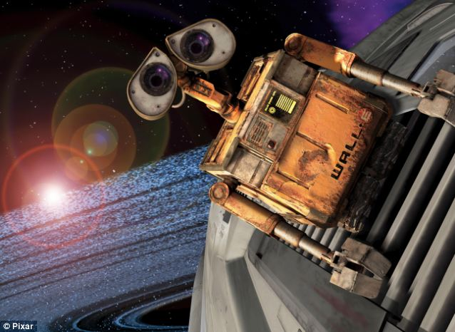 Modern classic: As well as some of Disney's all time classics, viewers will also be able to enjoy more modern films to come out of the studio such as Wall-E, pictured