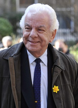 No laughing matter: In an interview with Radio Times, comedian Barry Cryer has criticised today's 'homophobic' and 'unbeleivable' sitcoms