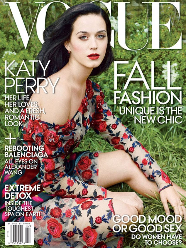 Candid interview: Katy opened up around her romantic life in the July issue