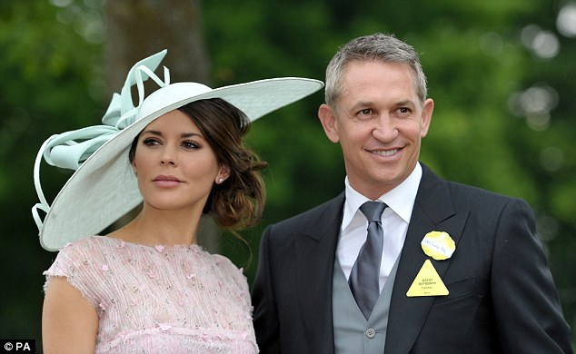 Expert: Gery Lineker, here at Ascot, will be helping out NBC with their Premier League coverage