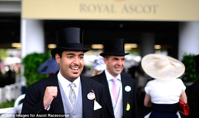 Money no object: Sheik Fahad al Thani, head of Qatar Racing, at Royal Ascot