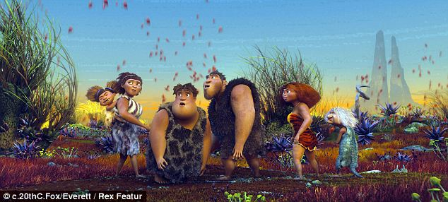 New to Netflix: Dreamworks' The Croods (pictured) will be exclusively viewable on Netflix