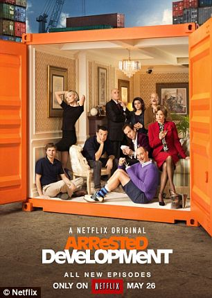 Miss: After 'Arrested Development' debuted last month, Netflix's shares dropped more than 6 per cent because critics had mixed reviews
