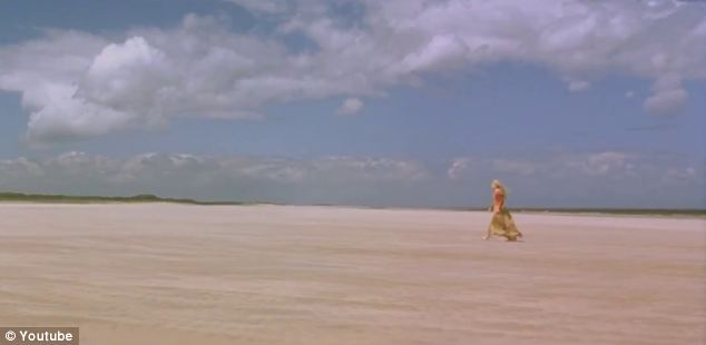 The stunning beach was used for the final scene of Shakespeare In Love (pictured)