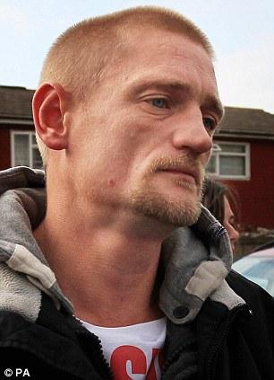 Killer: Stuart Hazell 37, who murdered Tia Sharp