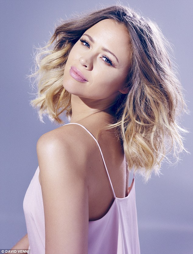 Natural beauty: Famed for her glowing complexion, the Girls Aloud star reveals her beauty secret to MailOnline