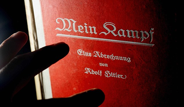Mein Kampf is a mix of Adolf Hitler's biography with his political ideologies
