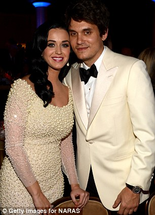 'I have to figure out why I am attracted to these broken birds': Katy with her former husband Russell and ex boyfriend John