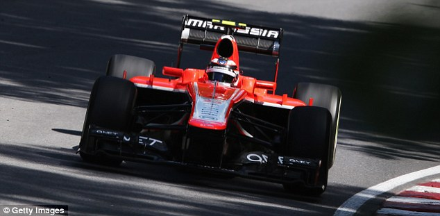 MONTREAL, QC - JUNE 09:  Max Chilton of Great Britain and Marussia drives during the Canadian Formula One Grand Prix at the Circuit Gilles Villeneuve
