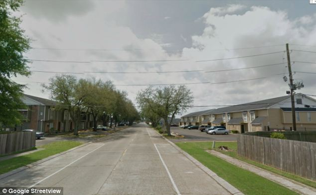 Scene: The little girl suffered the beating in this Louisiana neighborhood while her half-brother babysat her