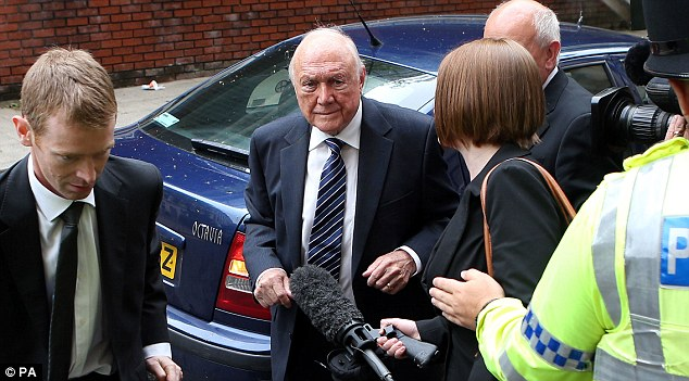 Judge Anthony Russell's conclusion was that while Stuart Hall was guilty of several awful abuses, at 83 he is elderly now, so a 'custodial sentence would be particularly difficult' for him