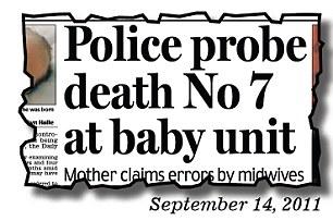 Police probe death No 7 at baby unit