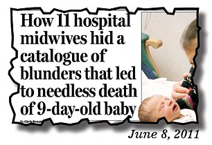 How 11 hospital midwives hid a catalogue of blunders
