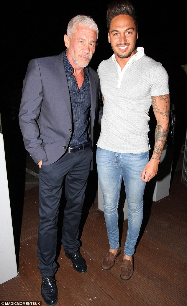 Moving on: Mario, picture with TOWIE co-star Wayne Lineker, admitted he is now a 'different person' after seeking professional help for his mental health issues