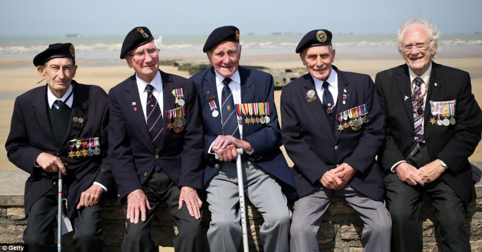 Veterans of the 1944 Normandy landings gathered earlier this month on June 6 for a day of ceremonies marking D-Day's 69th anniversary