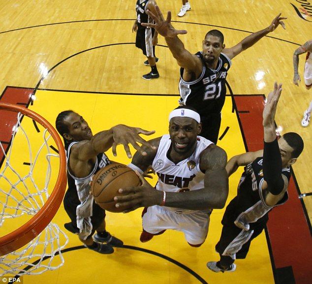 Miami Heat small forward LeBron James