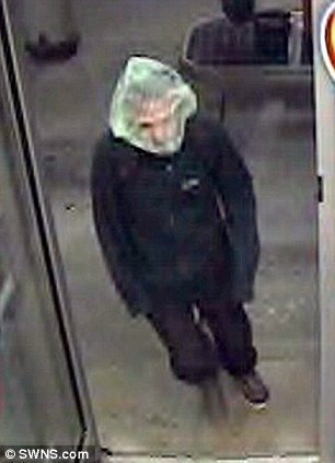 Neil was arrested after a police officer recognised him from CCTV footage just days after the robbery