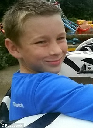 Tragedy: Charlie Kelsey-Neil, 12, was found hanging in his bedroom by a younger sibling