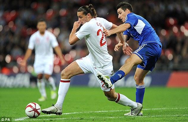 England's Andy Carroll