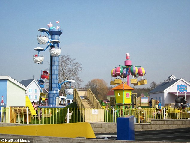 The comments appeared on the official Facebook page for Peppa Pig World in Hampshire