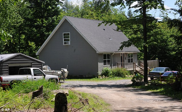 Plot: Glendon Crawford, who lived at this Galway house in New York, was arrested by the FBI in June last year