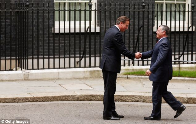 Deal: The UK parliament is expected to ratify the agreement with Jordan as early as today