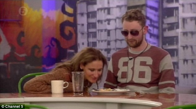 Tease: Michael was treated to a hot meal by Big Brother as the hungry housemates watched on as he ate it