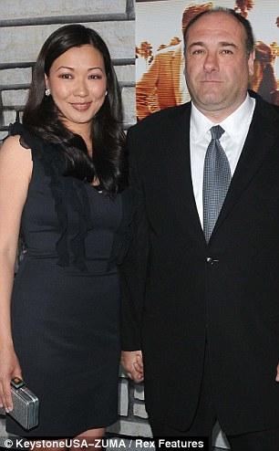 James Gandolfini and Deborah Lin  'Cinema Verite' HBO film premiere, Los Angeles, America - 11 Apr 2011