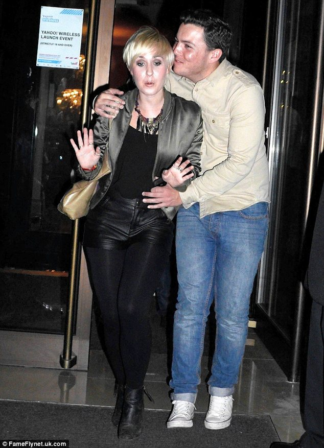 Awkward: The lady Diags looks keen on doesn't seem to reciprocate his feelings