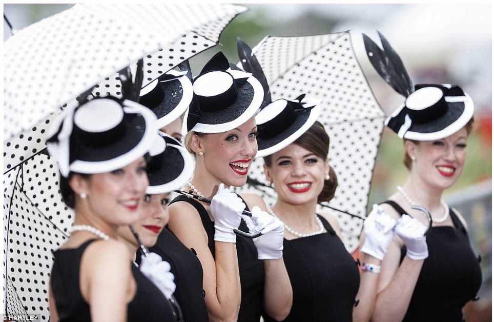 Ladies Day at Royal Ascot is always an opportunity for women to really go to town in their dressing up boxes