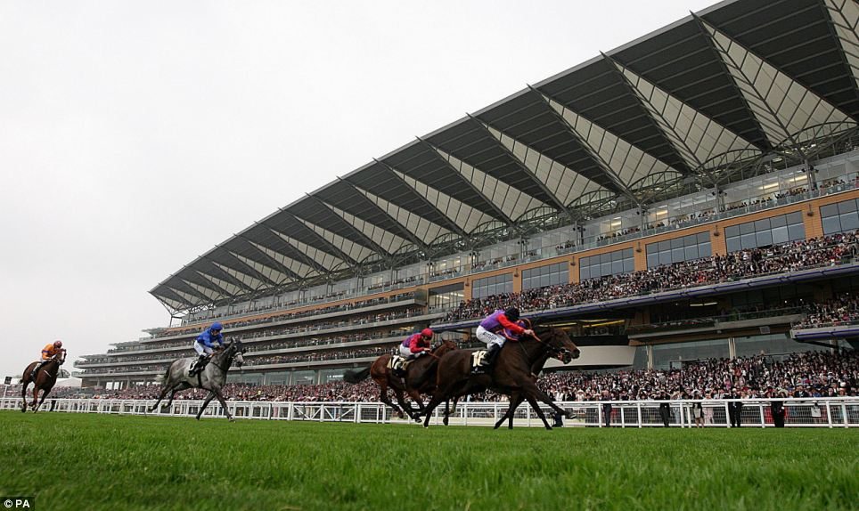 Estimate ridden by jockey Ryan Moore wins the Gold Cup during day three of the Royal Ascot meeting at Ascot Racecourse, Berkshire