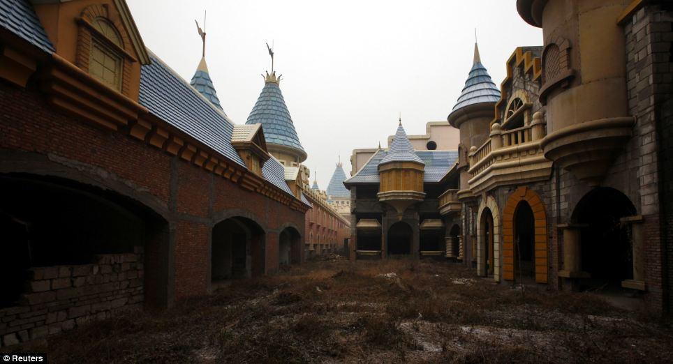 A similar scenario befell the Wonderland amusement park on the outskirts of Beijing