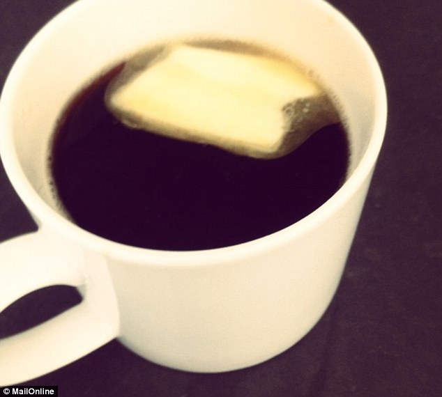 The new breakfast smoothie? 'Bulletproof' coffee is a blend of coffee beans and unsalted butter - but some health experts say it may actually promote weight gain, not loss